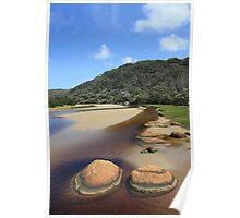 Tidal River rocks... Poster