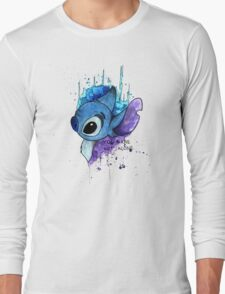 Grunge Stitch  Long Sleeve T-Shirt