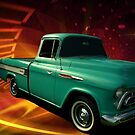 1957 Chevrolet Cameo Pickup by TeeMack