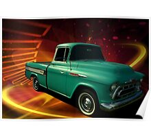 1957 Chevrolet Cameo Pickup Poster
