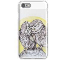 Lovers - Rumi Quote iPhone Case/Skin