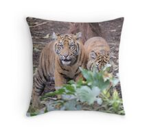 Do you see what I see? Mmm lunch. Throw Pillow