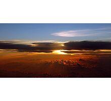 Burmese Sunset  Photographic Print