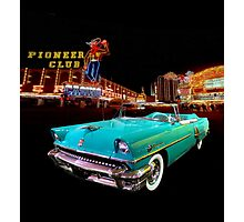 1955 Mercury Montclair Las Vegas Photographic Print