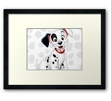 Patch from 101 Dalmatians Framed Print