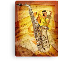Jazz Genie Canvas Print