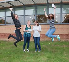 Bromley High School A Level results students 2015 by Keith Larby