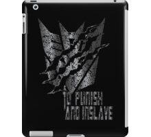 Decepticon Rip iPad Case/Skin