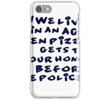 funny idea and slogan text iPhone Case/Skin