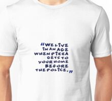 funny idea and slogan text Unisex T-Shirt