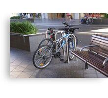 Bondi Bike Canvas Print