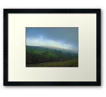 East of Sedburgh in the Yorkshire Dales Framed Print