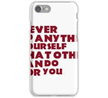 humor all we need iPhone Case/Skin