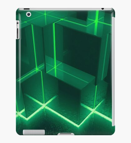 lights Cubes iPad Case/Skin