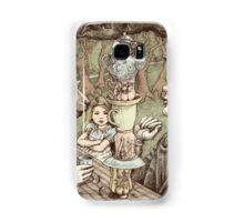 alice at the mad tea party Samsung Galaxy Case/Skin