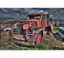Salvage Yard Beauty Photographic Print
