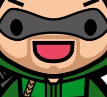 Green Archer Sticker