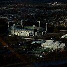 melbourne cricket ground by geof