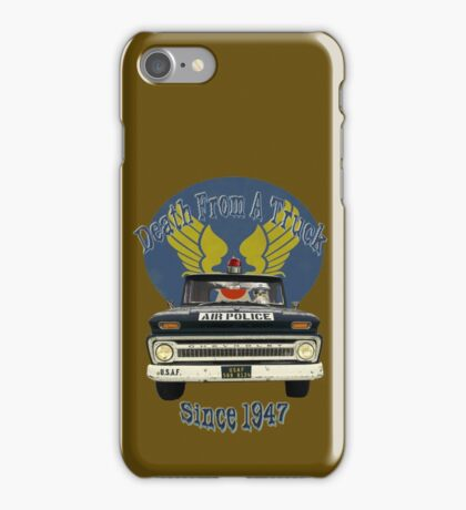Air Force Peacekeepers: Death From A Truck iPhone Case/Skin
