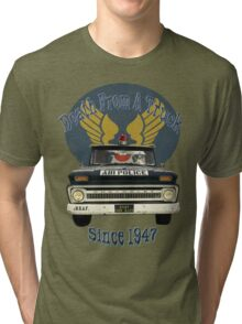Air Force Peacekeepers: Death From A Truck Tri-blend T-Shirt