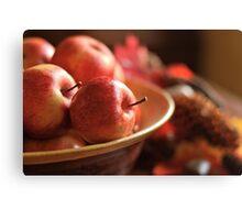 Apple Bowl Canvas Print