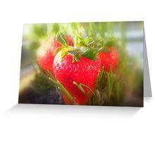 Strawberry Summer Greeting Card