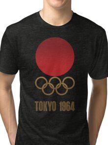 Tokyo 1964 - Olympics - Render Tri-blend T-Shirt