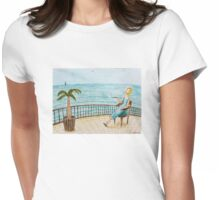 Summer rest Womens Fitted T-Shirt