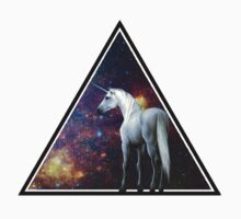 Galaxy unicorn triangle by dadawan