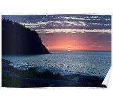 Port Townsend Sunset Poster