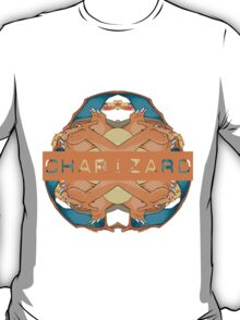 Pokemon - Charizard - Kaleidoscope T-Shirt