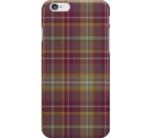 02815 Oneida County, New York Tartan  iPhone Case/Skin