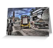 Always Busy at the Diggings Greeting Card