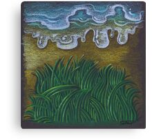 Life - water and grass Canvas Print