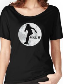 Roll it!! (white) Women's Relaxed Fit T-Shirt