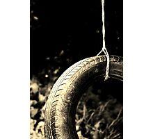 Tire Swing 2 Photographic Print