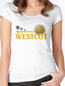 WestCOT Women's Fitted Scoop T-Shirt