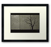 ashes Framed Print