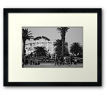 Percussion drum ... Framed Print