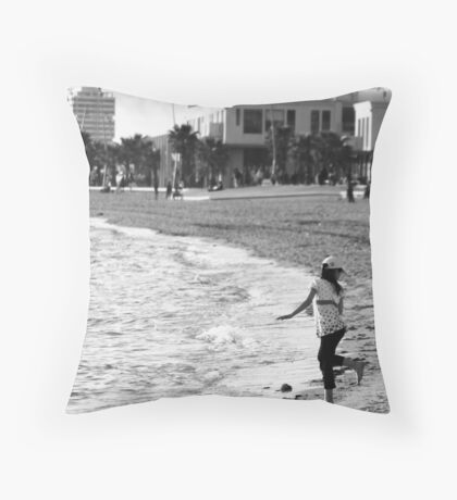 ... so hope that wasn't doggy-doos! Throw Pillow