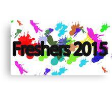 Freshers 2015 university design, OFFICIAL EXCLUSIVE Paint splatter Canvas Print