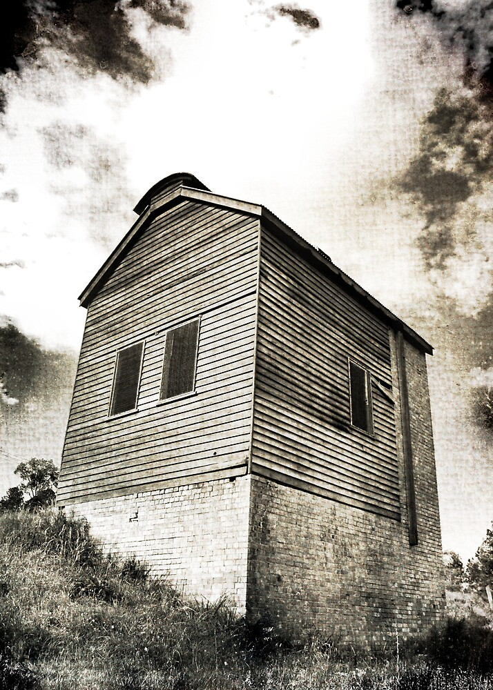 Retort House - Old Scottish Gold Mine by Carol Knudsen
