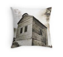 Retort House - Old Scottish Gold Mine Throw Pillow