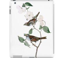 White throated Sparrow iPad Case/Skin