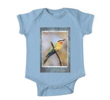 White Fronted Bee Eater II One Piece - Short Sleeve