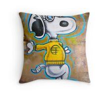 Snoopy...!!! Throw Pillow