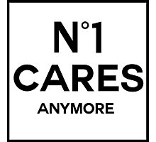 No 1 Cares Anymore Photographic Print