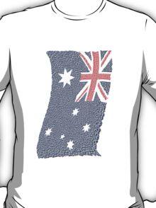 Australian Flag Mosaic T-Shirt T-Shirt