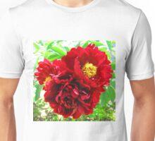 Peony Flower Trio Unisex T-Shirt