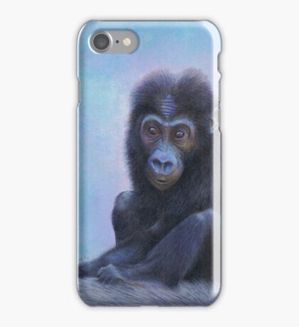 Muhali, Baby Gorilla iPhone Case/Skin